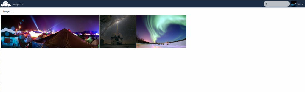 Viewer photo Owncloud